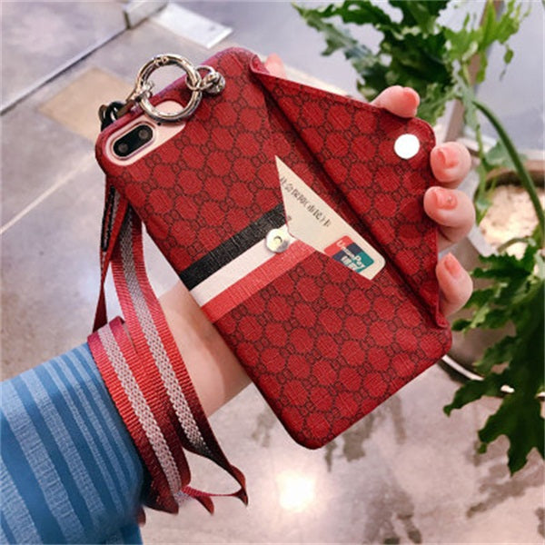 Red Checkered Bee Phone Case For iPhone X/XS/XR/XS Max