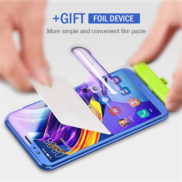 3D Full Cover Soft Screen Hydrogel Film For Samsung S9 S9 Plus