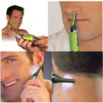 Micro Precision Eyebrow Ear Nose Trimmer With LED Light