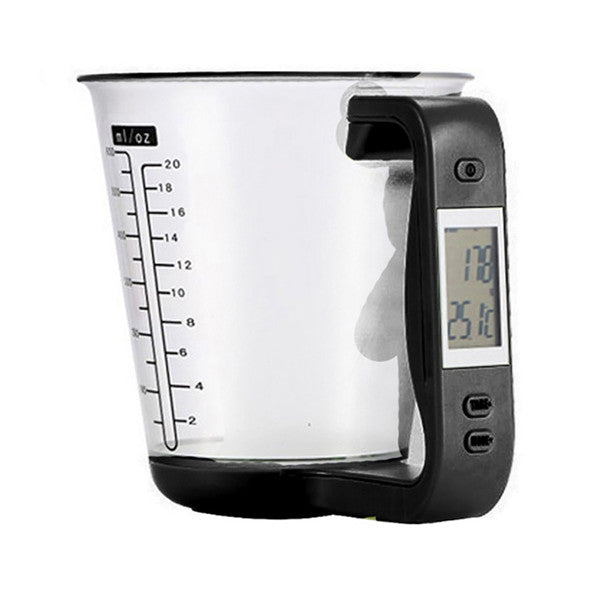 51236f311362 Digital Kitchen Electronic Measuring Cup Scale With LCD Display