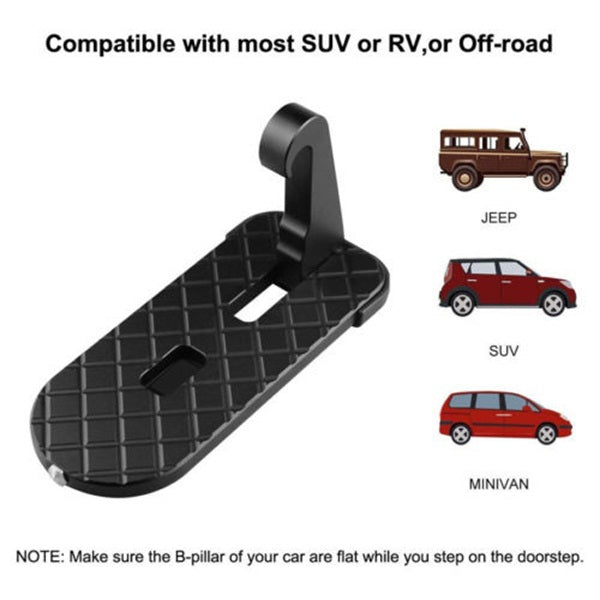 Multifunction Foldable Car Doorstep Latch Hook Anti-slip Mini Foot Pedal Ladder For Jeep Suv Truck Roof Car Rooftop Pedal Sale Price Furniture Accessories
