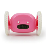 Funny LCD Display Running Alarm Clock Electronic Runaway Digital Alarm Clock