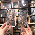 Silicone Case Diamond Pattern Soft Phone Case For iPhone For iPhone 7/8 7/8 Plus