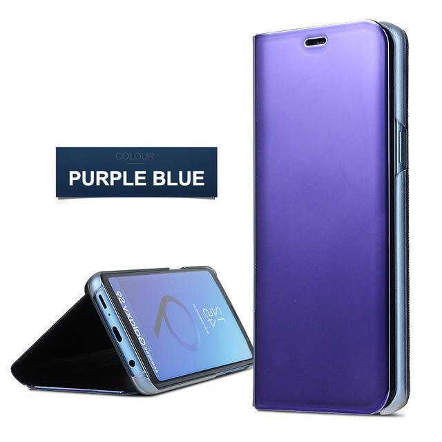 Huawei Mate 20 Pro Lite X  Flip Stand Mirror Leather Case Mirror Smart Windows Flip Cover
