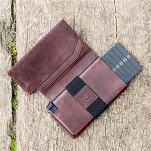 Multi-function Leather Automatic Pop-up Credit Card Package
