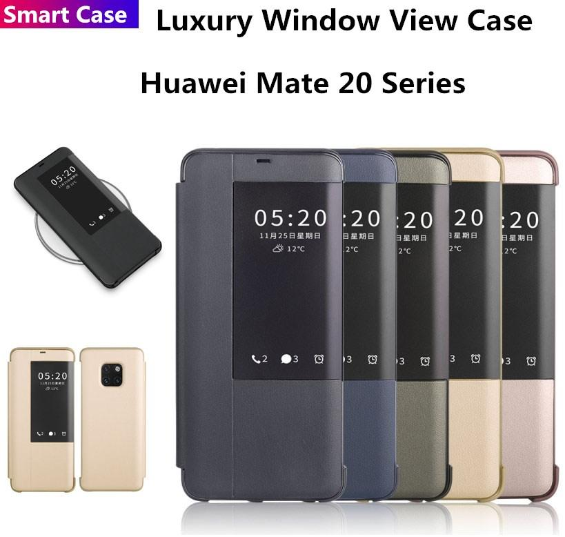 Huawei Mate 20/Mate 20 Pro/Mate 20X/Mate 20 Lite Clamshell Leather Case