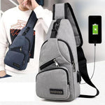 High-Quality Compact Yet Spacious Sling Smart Travel Bag  For Men & Women