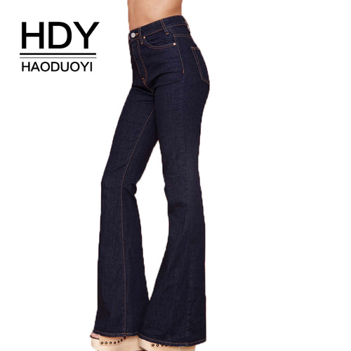 Women's Clothing Jeans 2019 Womens High Waist Ripped Pockets Jeans Denim Pants Blue Button Ankle Length Wide Leg Holes Pants Spring Hot Sales B91202j