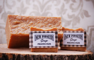 Pirates Rum Soap