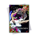 Red Hot Chili Peppers - Flea 4 Christmas Card