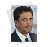 Benicio Del Toro 1 Greeting Card