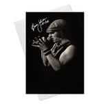 Brian Johnson ACDC 1 Greeting Card