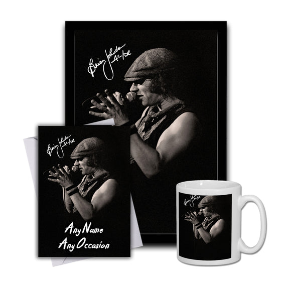 Brian Johnson ACDC 1 Gift Set Bundle