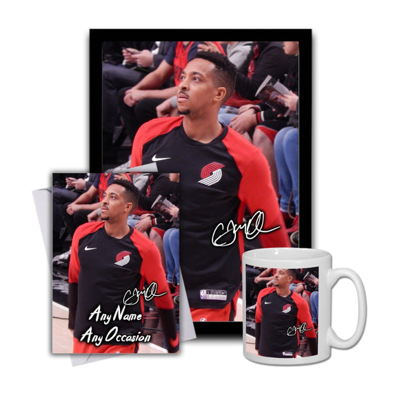 CJ McCollum Portland Trail Blazers 1 Gift Set Bundle