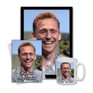 Tom Hiddleston Loki 4 Gift Set Bundle