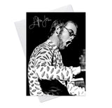 Elton John 3 Greeting Card