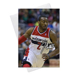John Wall Washington Wizards 3 Greeting Card