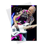 Red Hot Chili Peppers Flea 4 Greeting Card