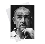 Sean Connery James Bond Goldfinger 4 Greeting Card