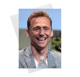 Tom Hiddleston Loki 4 Greeting Card