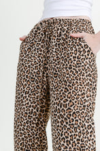 Load image into Gallery viewer, Leopard Print Jogger Pants