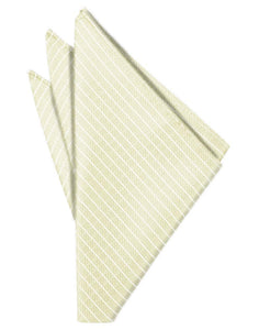 Ivory Palermo Pocket Square