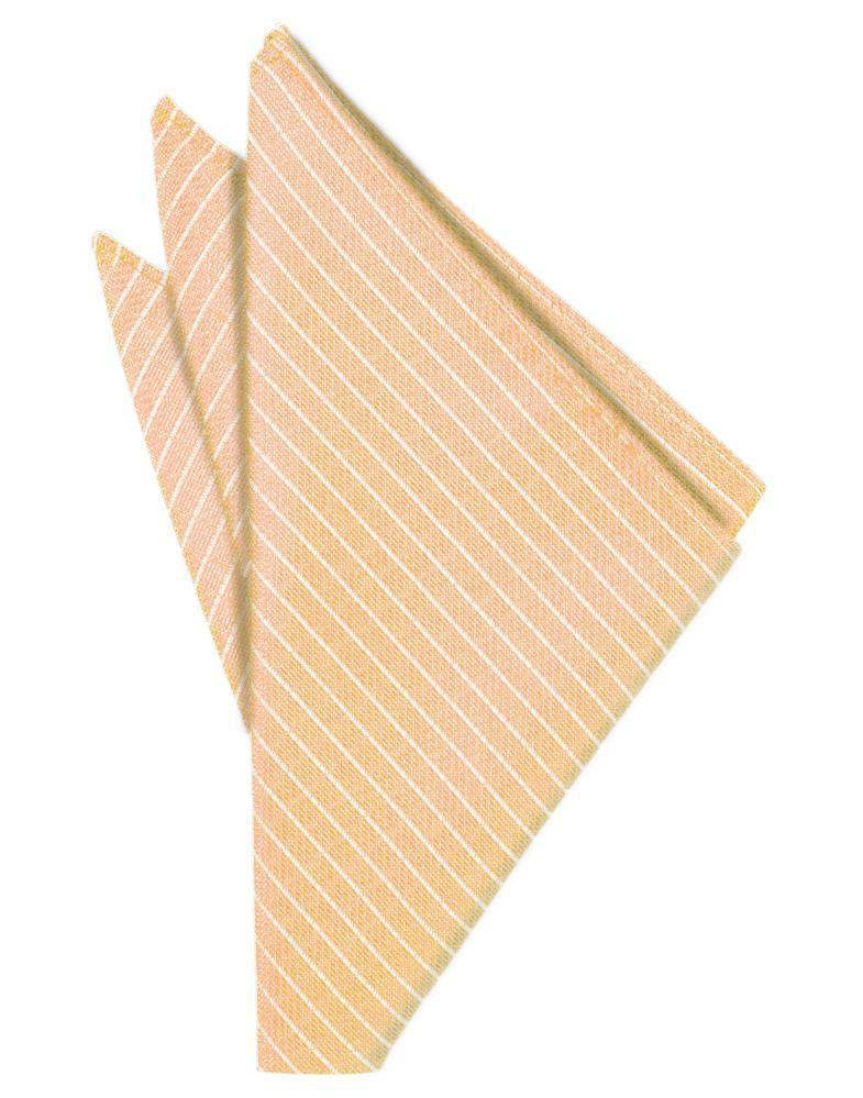 Peach Palermo Pocket Square