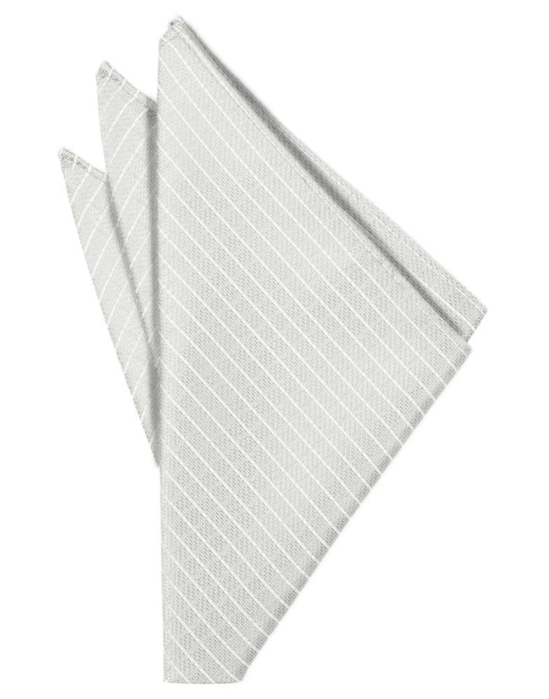 Platinum Palermo Pocket Square