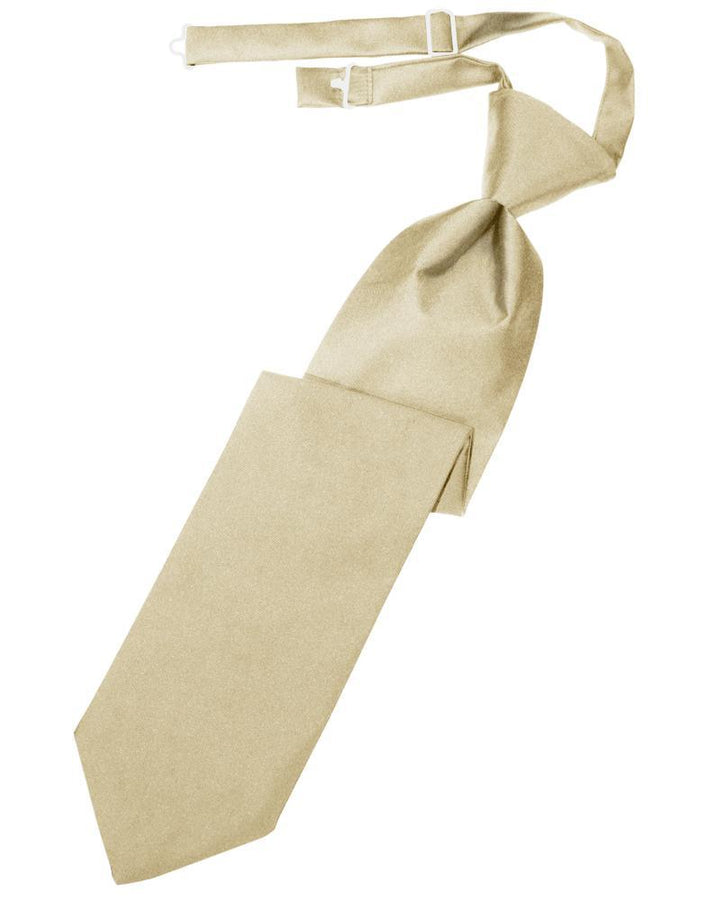 Bamboo Luxury Satin Kids Necktie