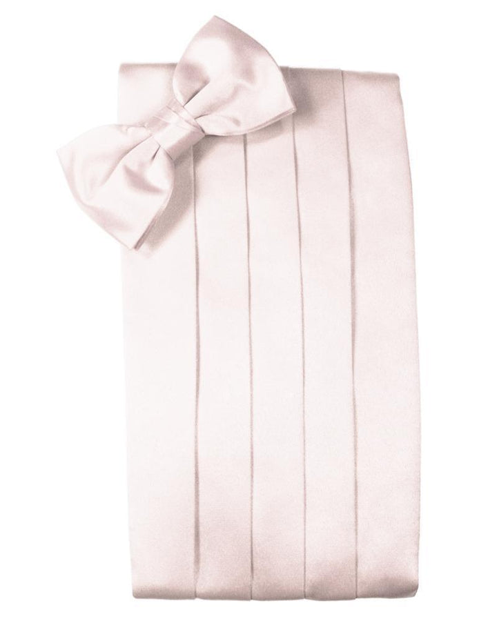 Blush Luxury Kids Satin Cummerbund