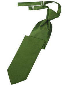 Clover Luxury Satin Kids Necktie