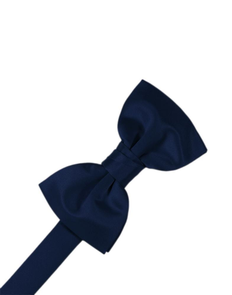 Marine Luxury Satin Bow Tie