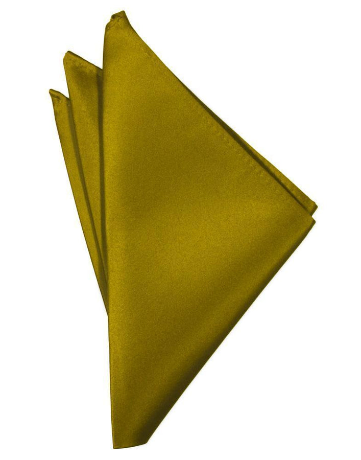New Gold Luxury Satin Pocket Square
