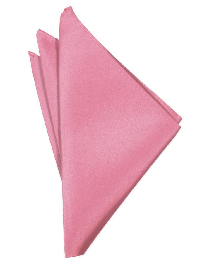 Rose Petal Luxury Satin Pocket Square