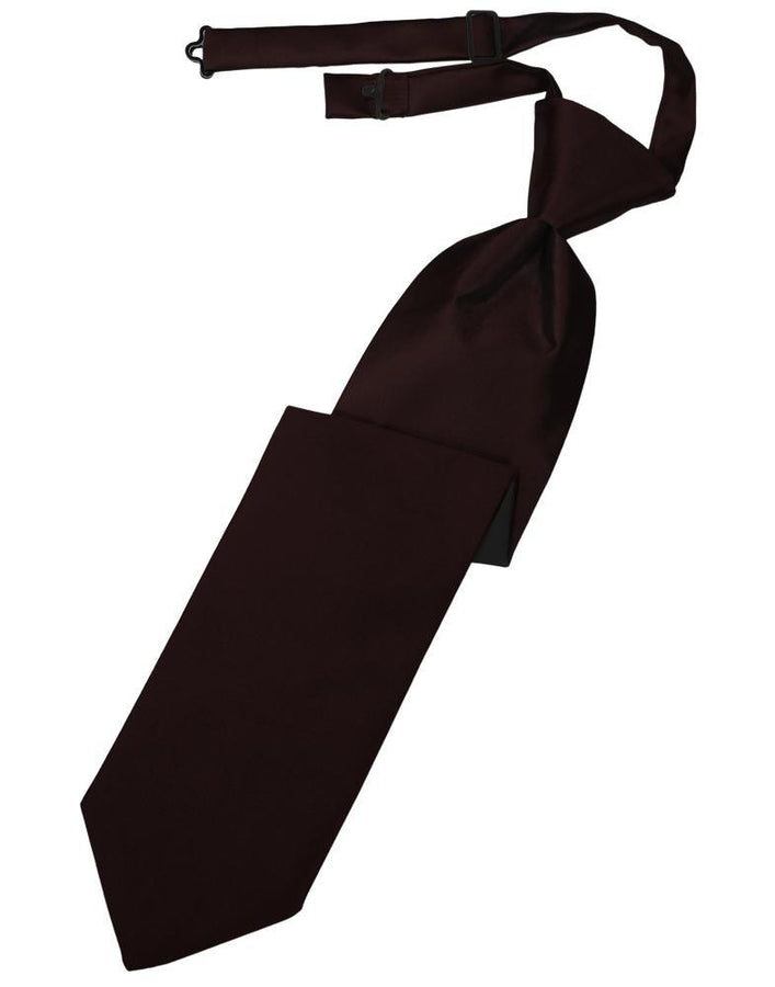 Truffle Luxury Satin Kids Necktie