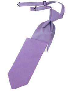 Wisteria Luxury Satin Kids Necktie