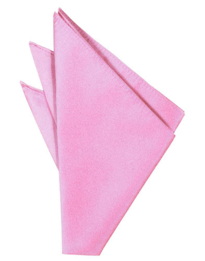 Bubblegum Solid Twill Pocket Square
