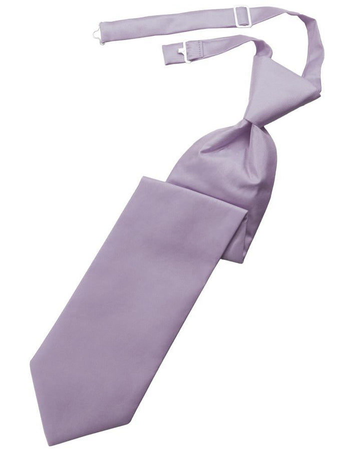 Heather Solid Twill Kids Necktie