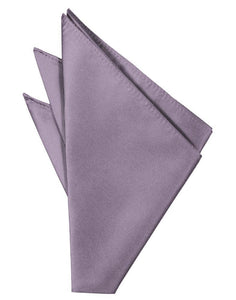 Heather Solid Twill Pocket Square