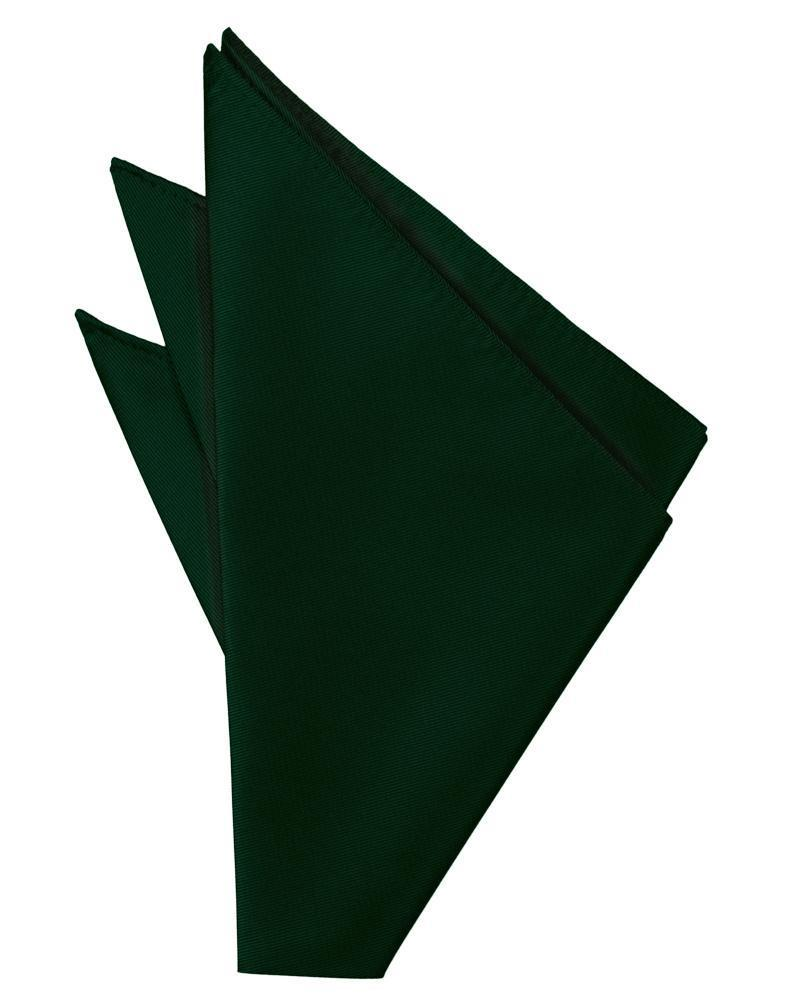 Hunter Solid Twill Pocket Square