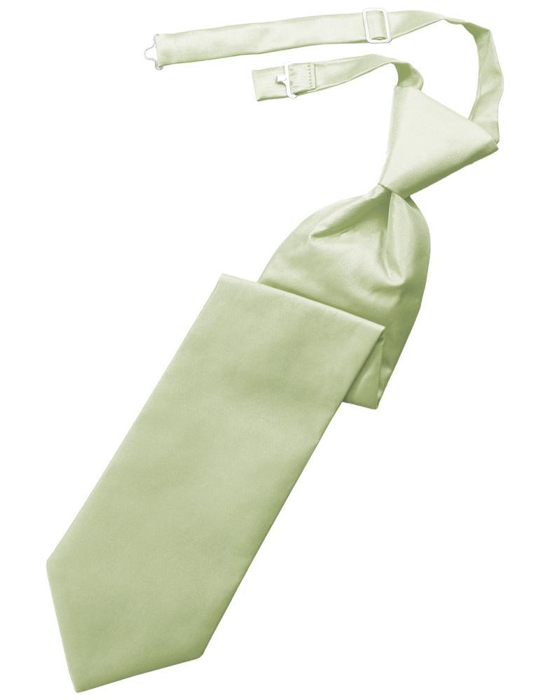 Mint Solid Twill Kids Necktie