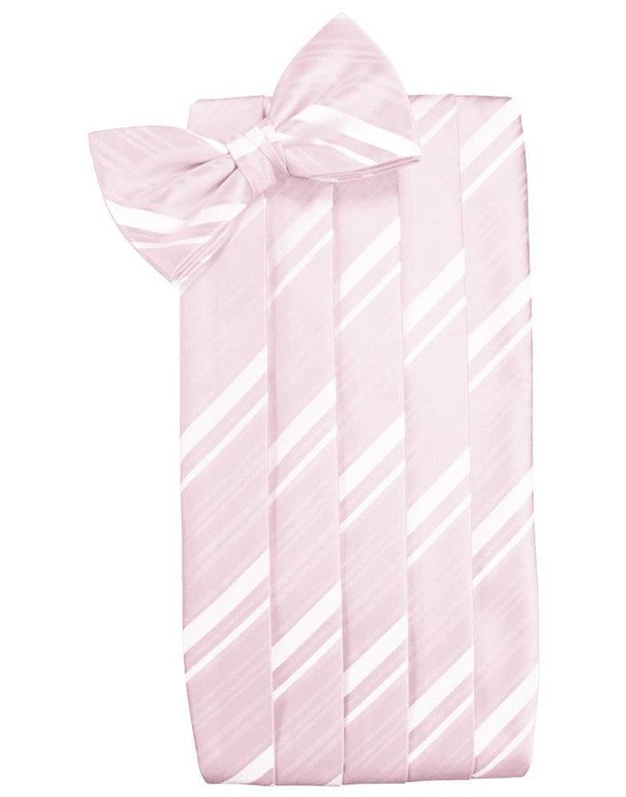 Blush Kids Striped Satin Cummerbund