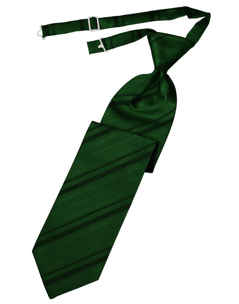 Hunter Striped Satin Kids Necktie