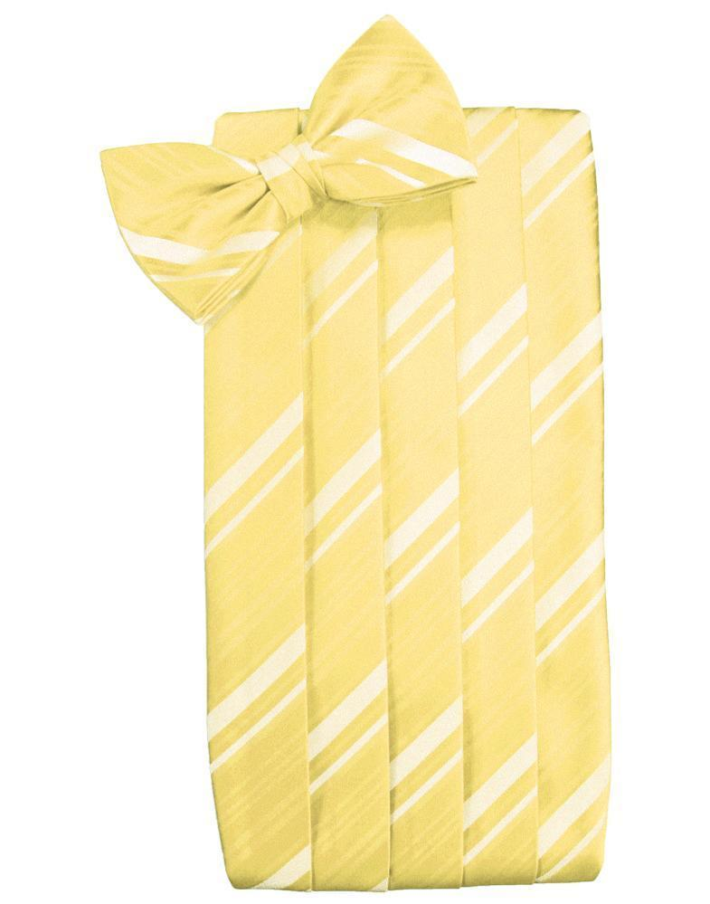 Sunbeam Kids Striped Satin Cummerbund