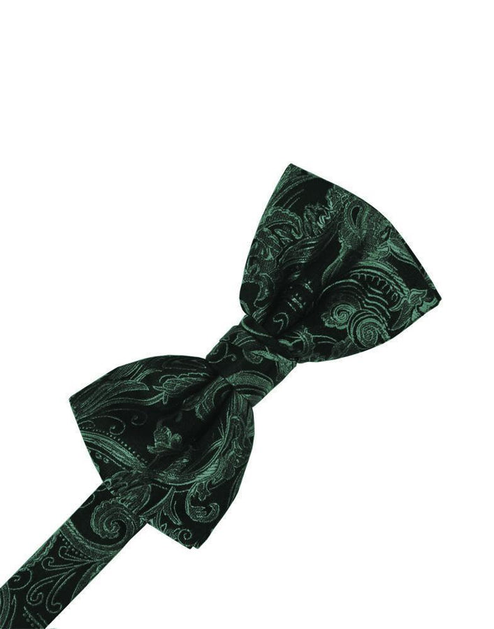 Holly Tapestry Bow Tie