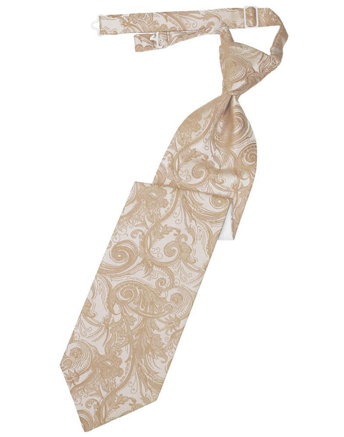 Latte Tapestry Kids Necktie