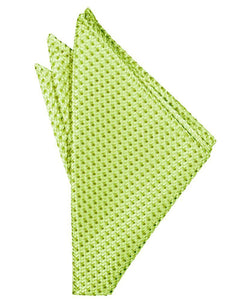 Lime Venetian Pocket Square