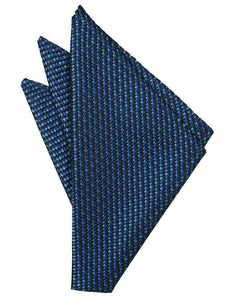 Royal Blue Venetian Pocket Square