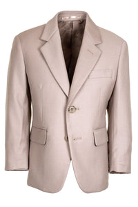 """Aspen"" Kids Tan Suit Jacket (Separates)"