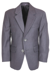 """Aspen"" Kids Steel Grey Suit Jacket (Separates)"